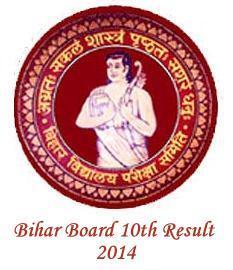 bihar board matric result 2014