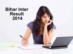 bihar inter result 2014